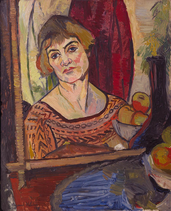 Suzanne-Valadon-Self-Portrait-2-